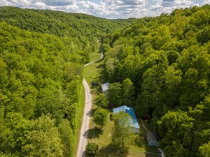 SALE PENDING! TN HOME SHOP 101 AC CREEKS SPRINGS CAVE TIMBER