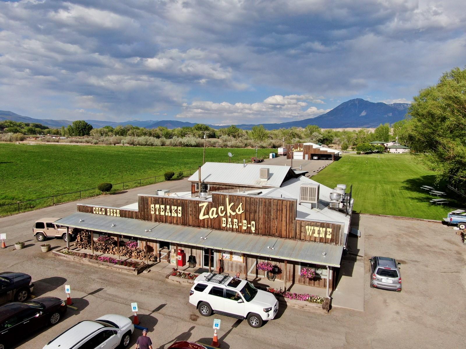 Zack's Bar-B-Q Restaurant For Sale, Hotchkiss Colorado