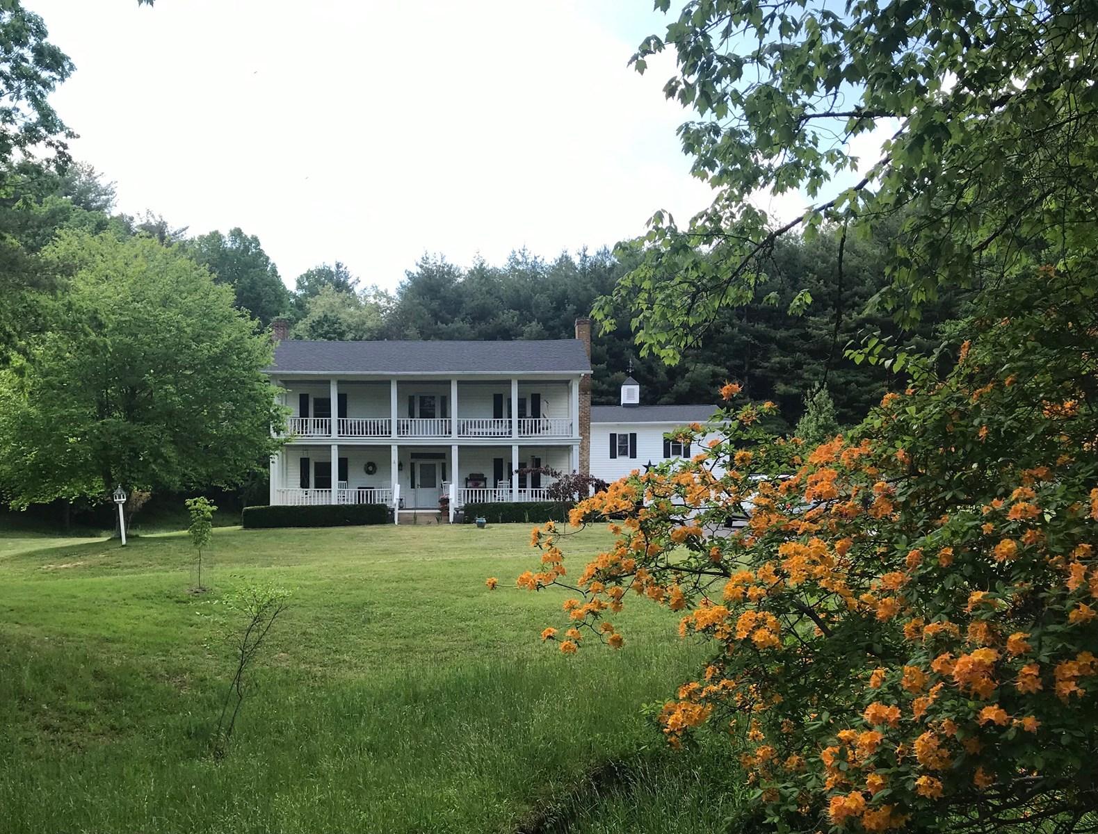 Historic Farmhouse for Sale in Floyd County VA
