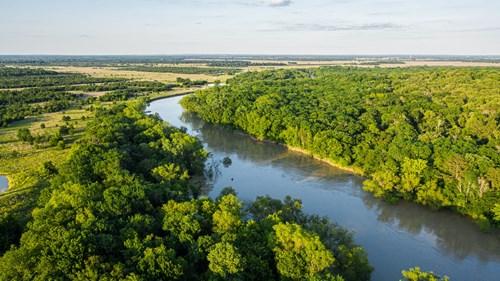 Trinity Riv TX Land for Sale Freestone Co w Hunt Fish Timber
