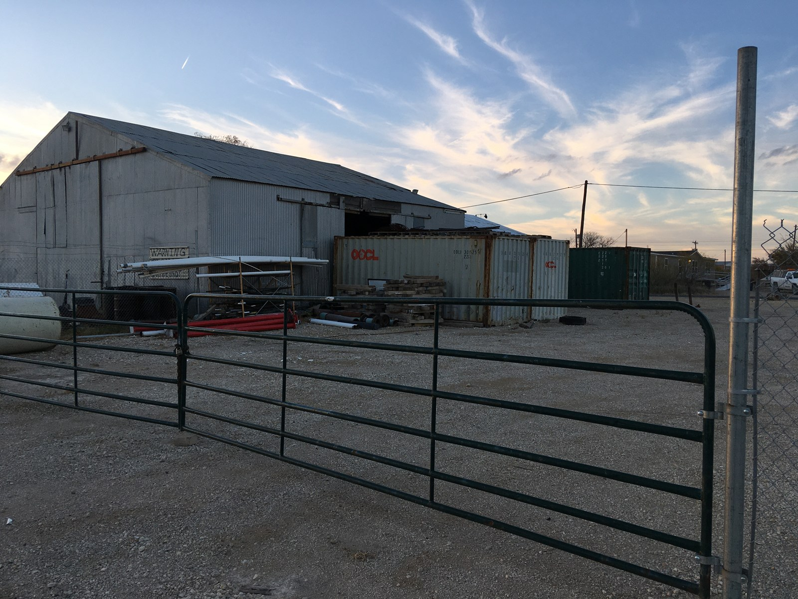 Commercial Building For Sale - 614 E 5th McCamey, Upton Co