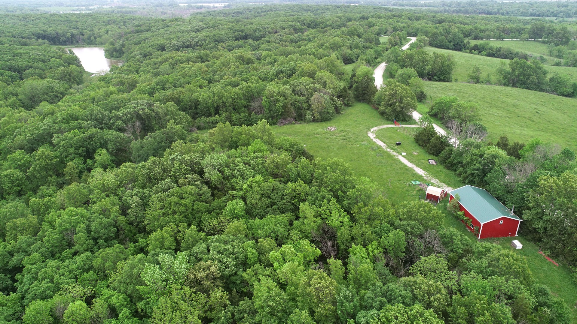 Southern Iowa Timbered Recreational Tract