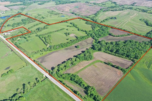 Farm For Sale Southern Iowa Mixed-Use Crops Pasture Hunting