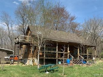 cabin on 14.83 acres
