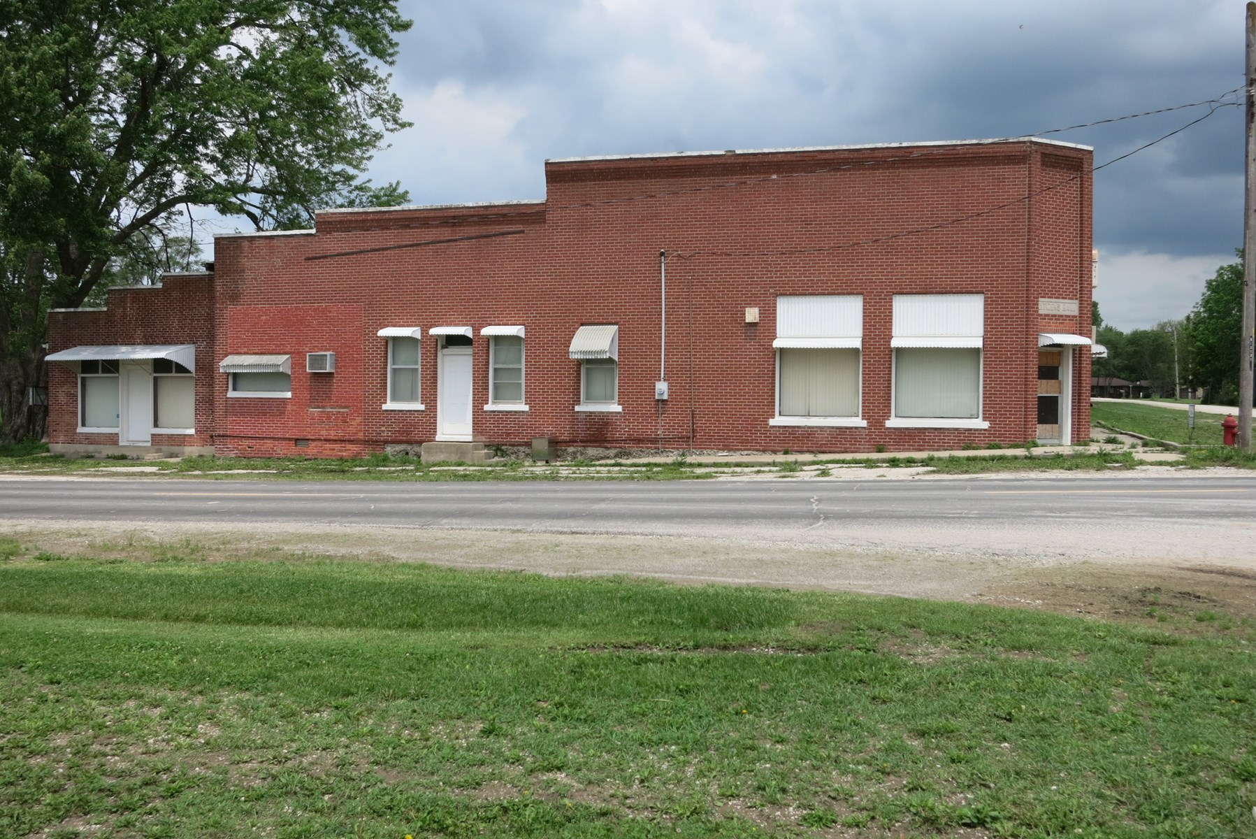 Old Bank Building in Small Town of NW MO