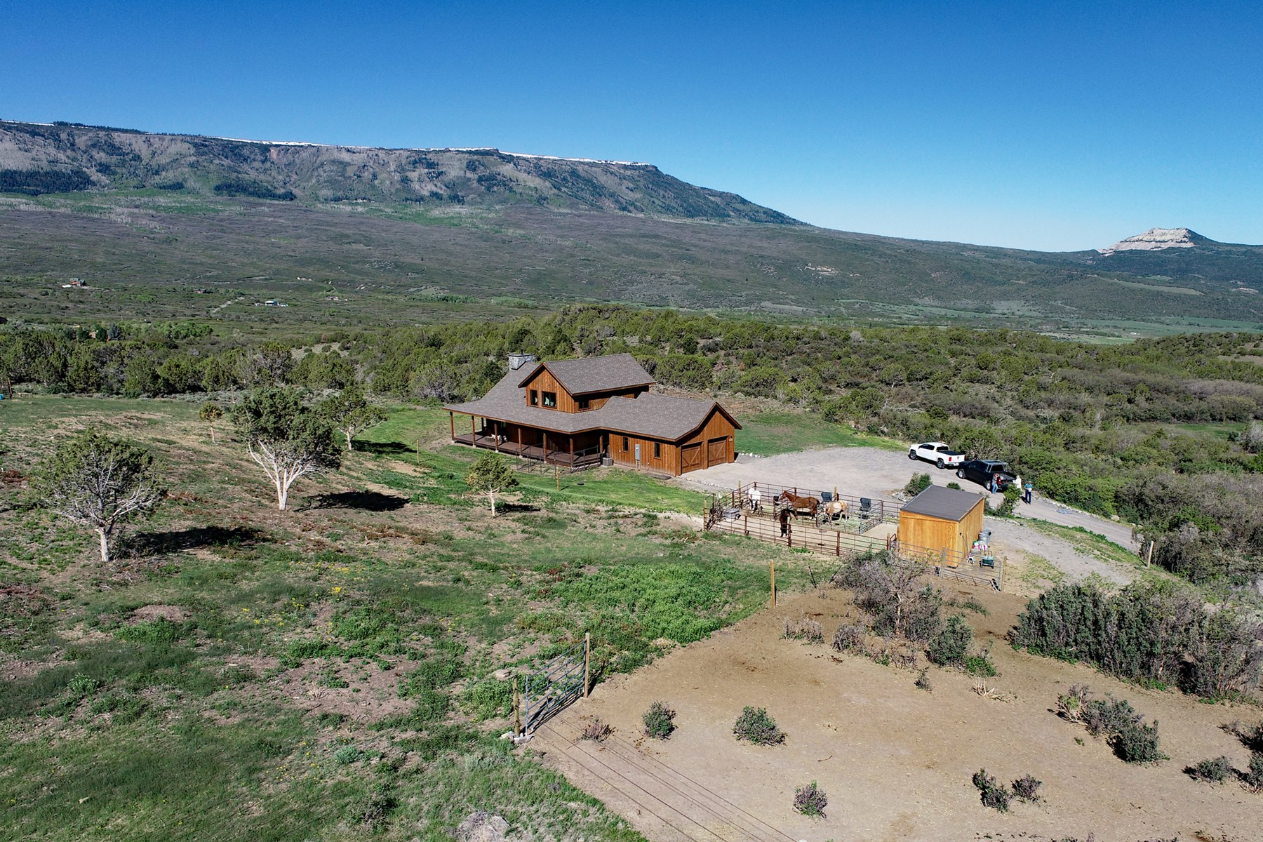 Mountain Home for Sale in Colorado with Public Access