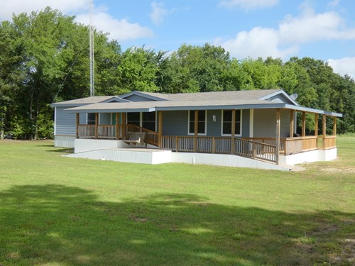 COUNTRY HOME - LAND POINT TEXAS - RAINS COUNTY TX - 4BR-3BA
