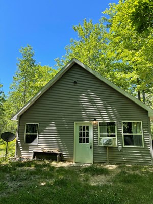 NORTHERN MICHIGAN WOODS CABIN WITH ACREAGE