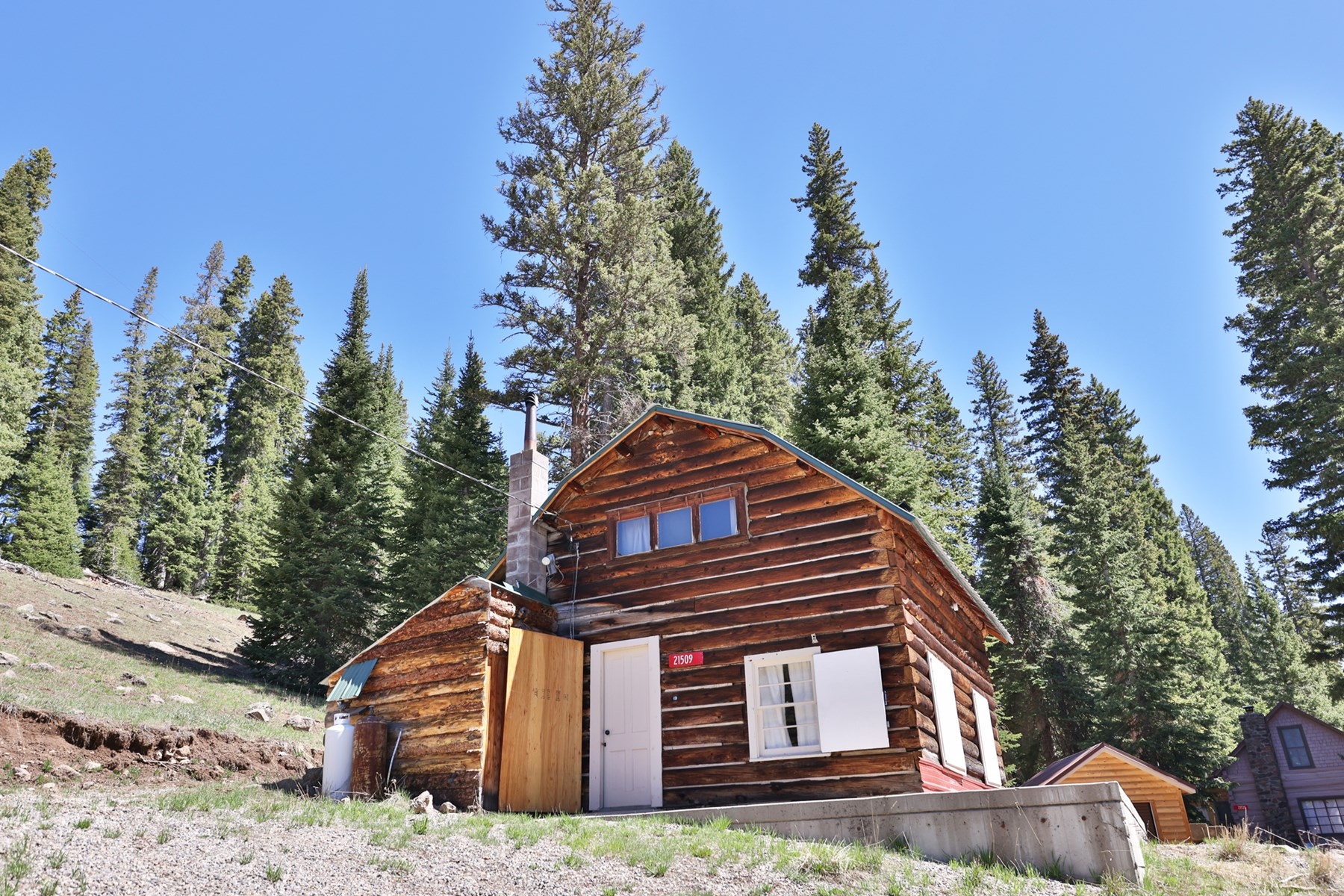 Log Cabin on Grand Mesa National Forest