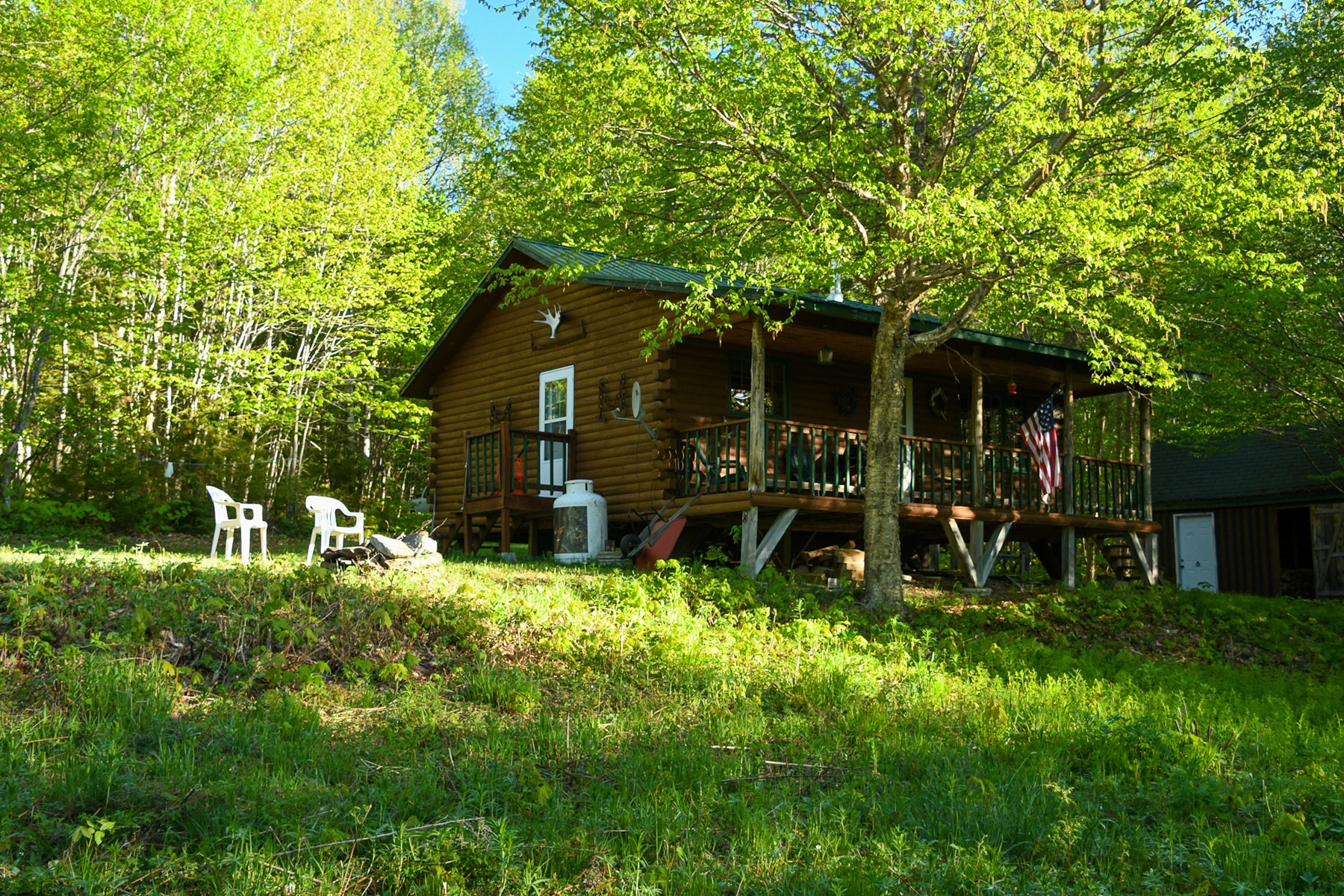 Log Cabin For Sale in Maine | ME Real Estate