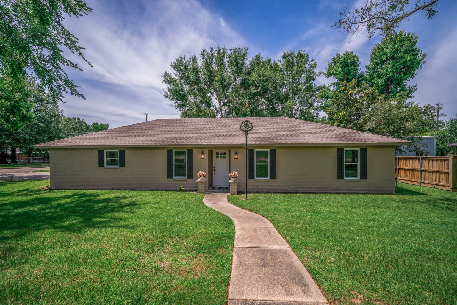 Country Home For Sale East Texas Longview Texas Corner Lot