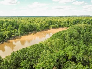 WATERFRONT HUNTING LAND FOR SALE IN PORT GIBSON, MS