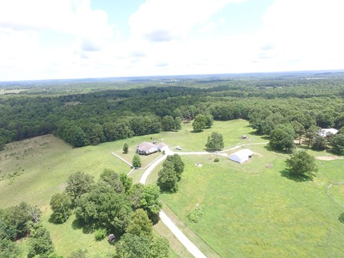 COUNTRY HOME AND FARM FOR SALE IN THE ROLLING OZARKS!