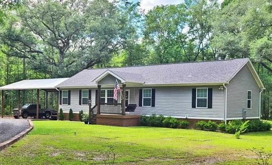 HOME ON 25 WOODED ACRES NEAR TALLAHASSEE