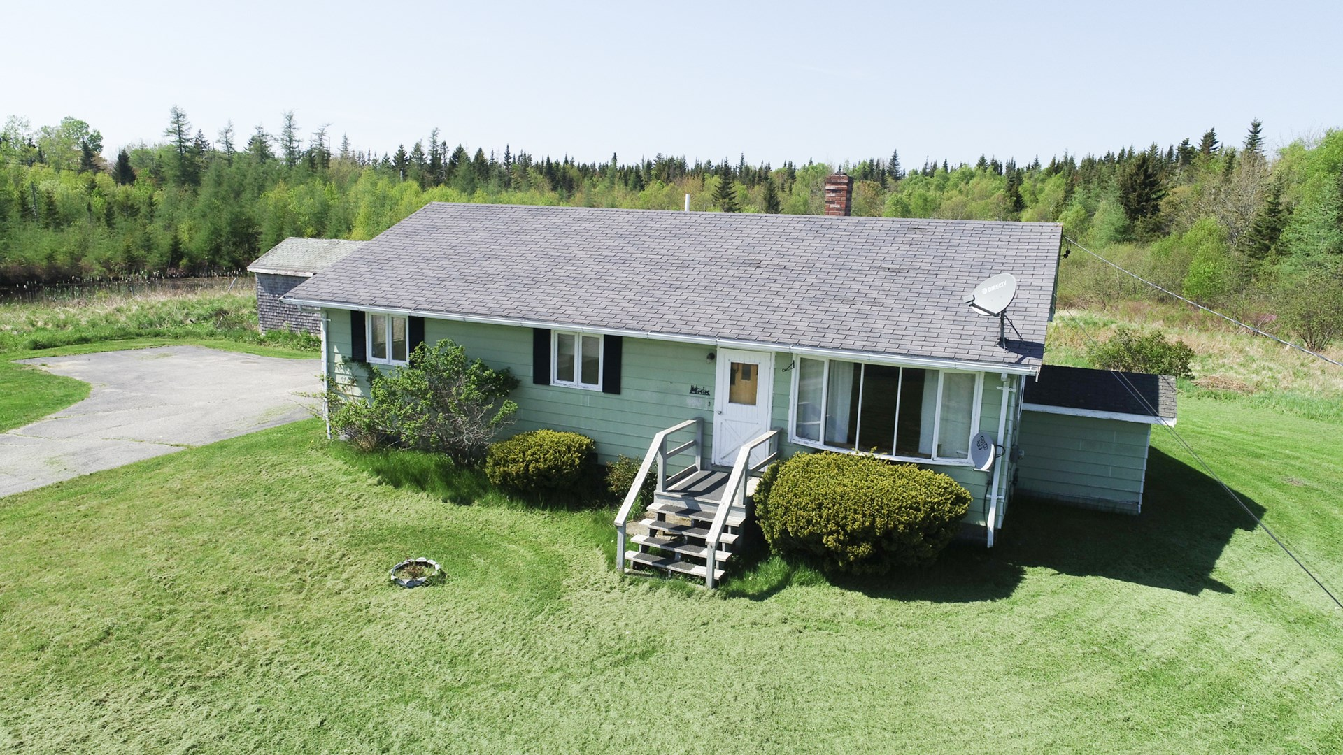 Coastal Maine Ranch Home for Sale