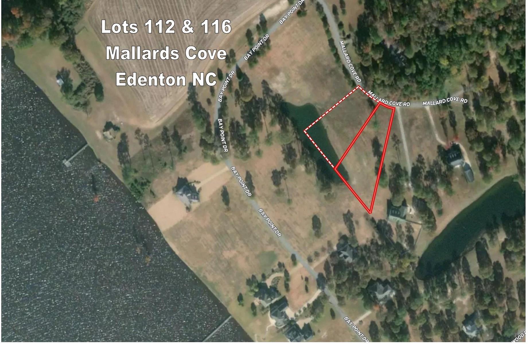 Residential Lot near Albemarle Sound Edenton, NC