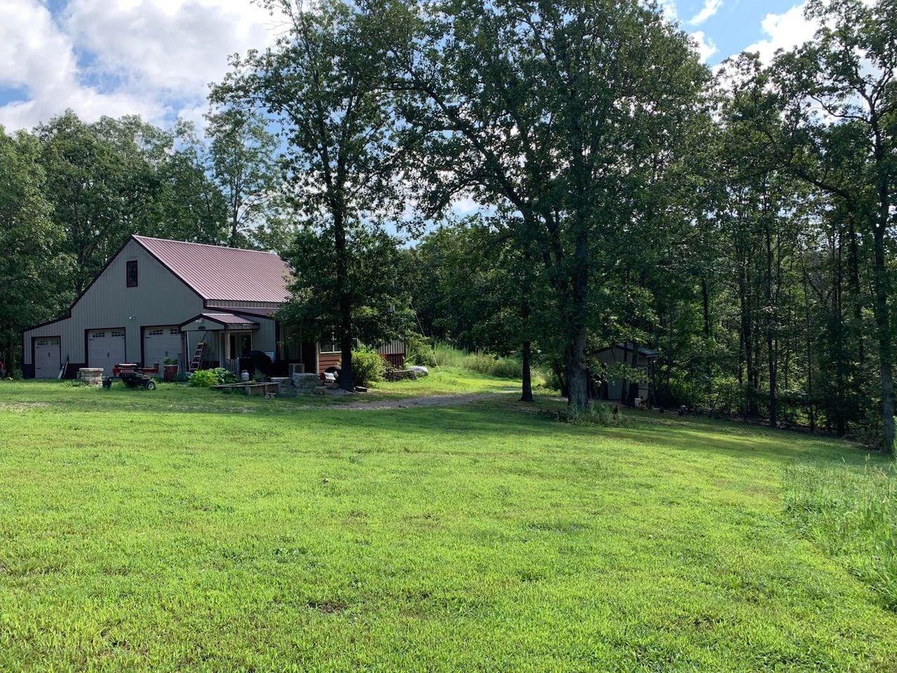 Farm with Barndominium for Sale - Southern Missouri Ozarks