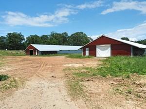 4 HOUSE POULTRY BREEDER FARM FOR SALE JASPER COUNTY, MS