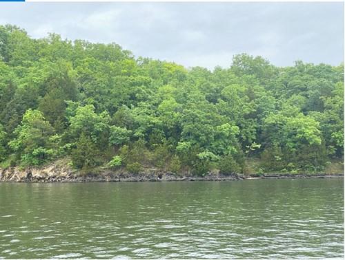 Lake Ozark, Water Front, Building Site.
