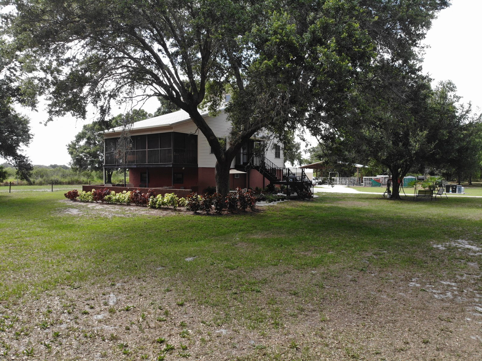 3 BR 3 BA home on 10 fenced acres!