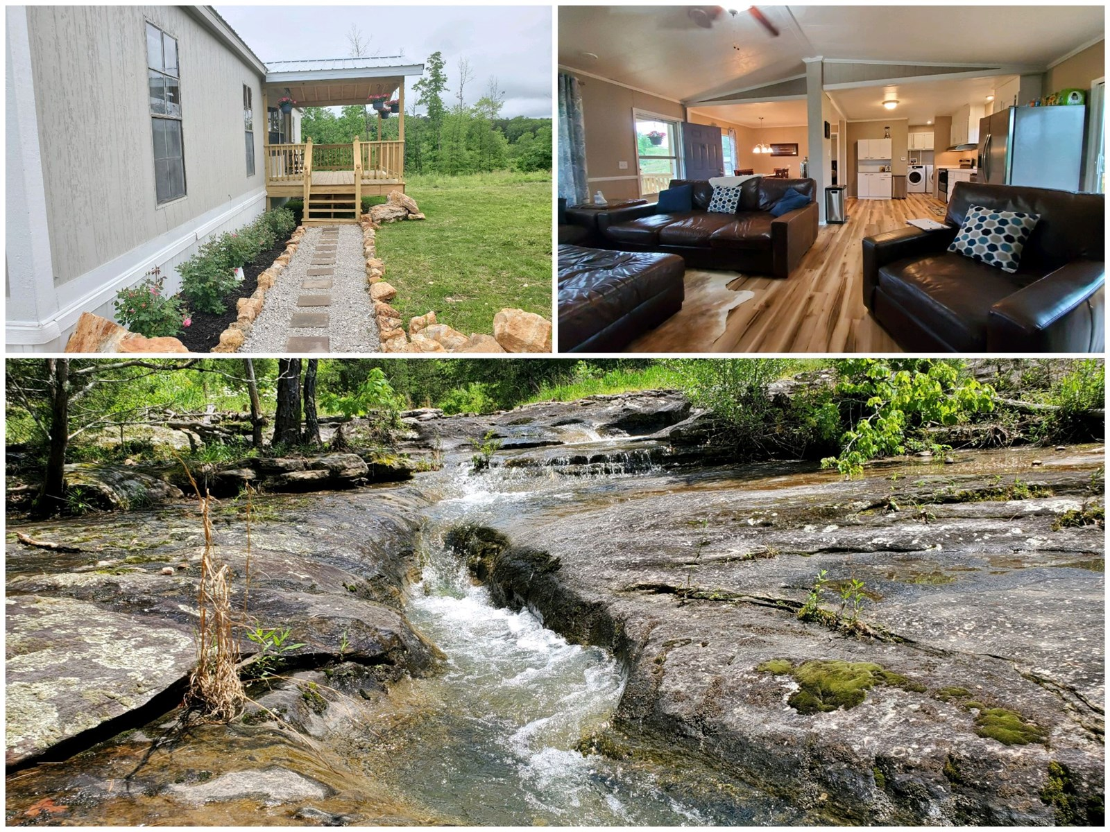 Country Home and Acreage for Sale in Southern MO Ozarks