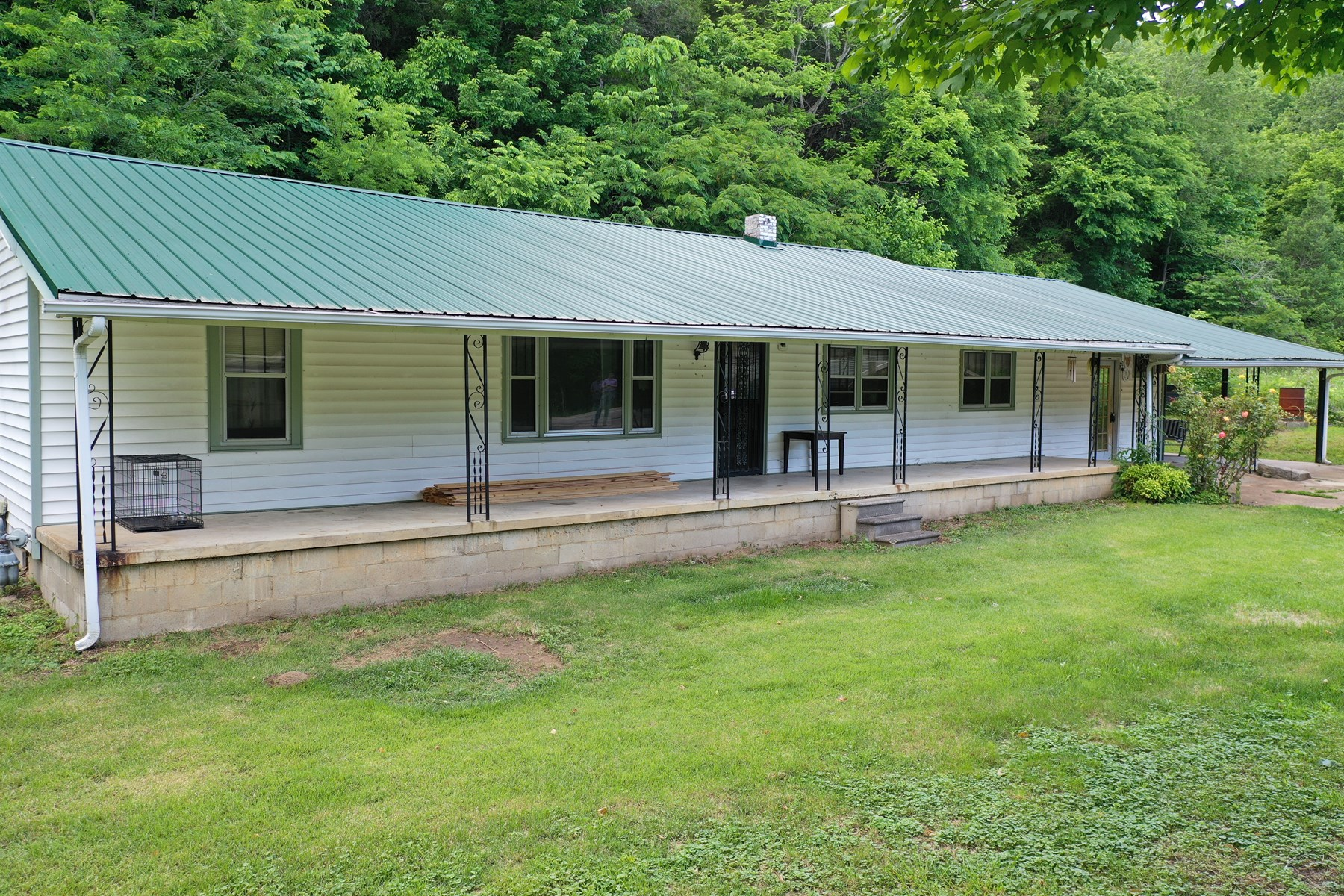 Country Home For Sale with Creek