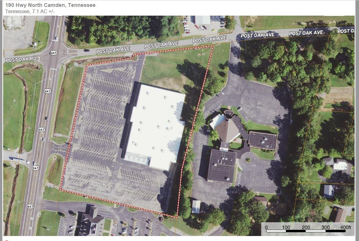 COMMERICAL BUILDING, CAMDEN TN, 60580 SQ FEET, WEST TN