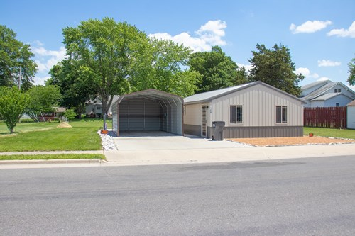 Carlinville Metal Siding and Roof Home For Sale