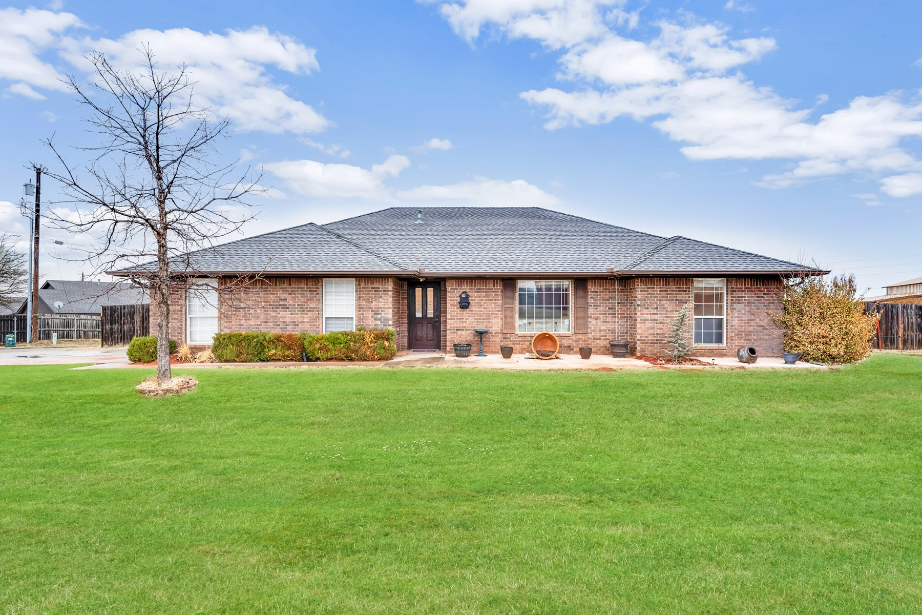 Beautiful home located on South side of Elk City