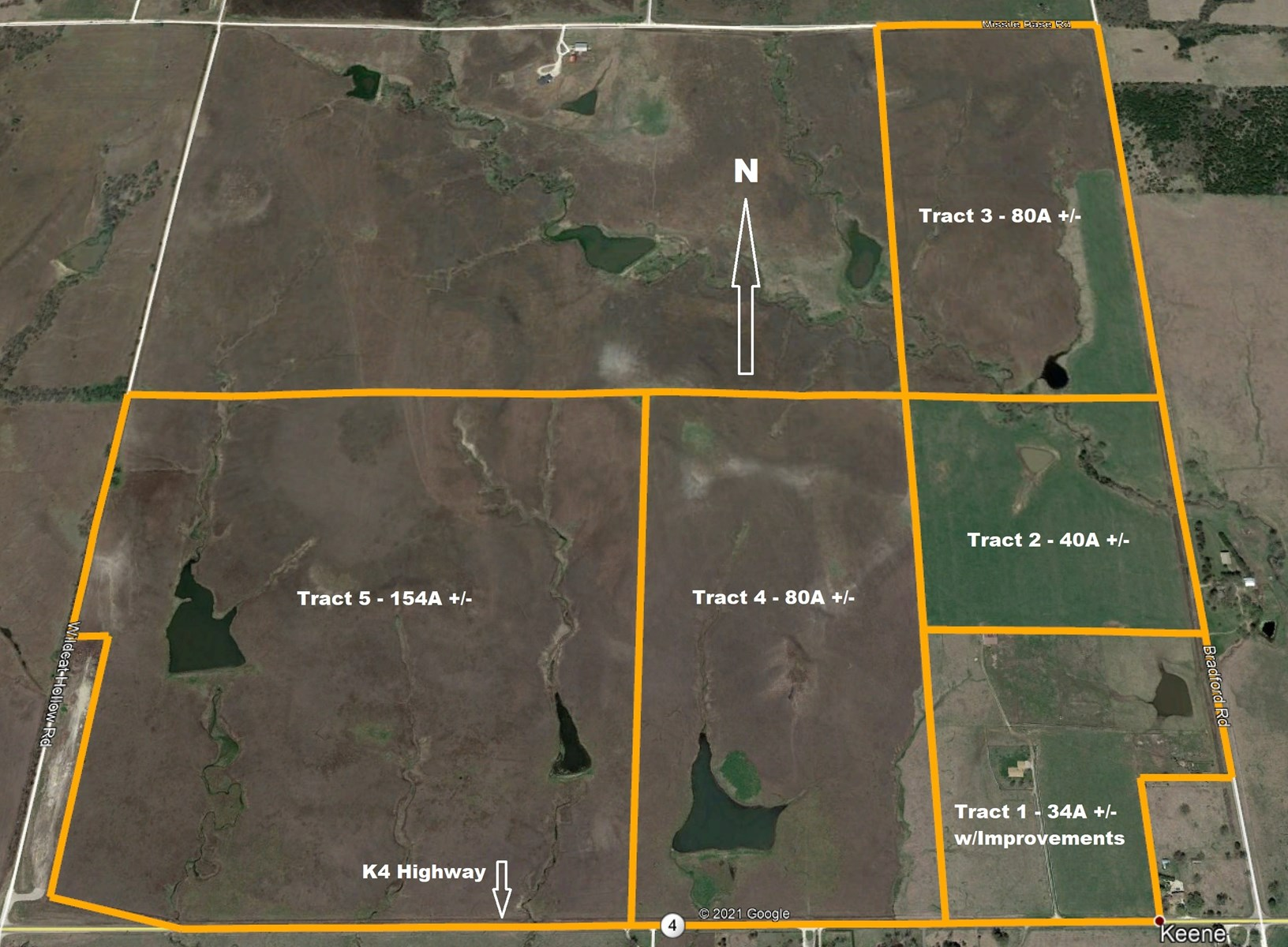 EASTERN KANSAS RANCH FOR SALE AT INTERNET AUCTION