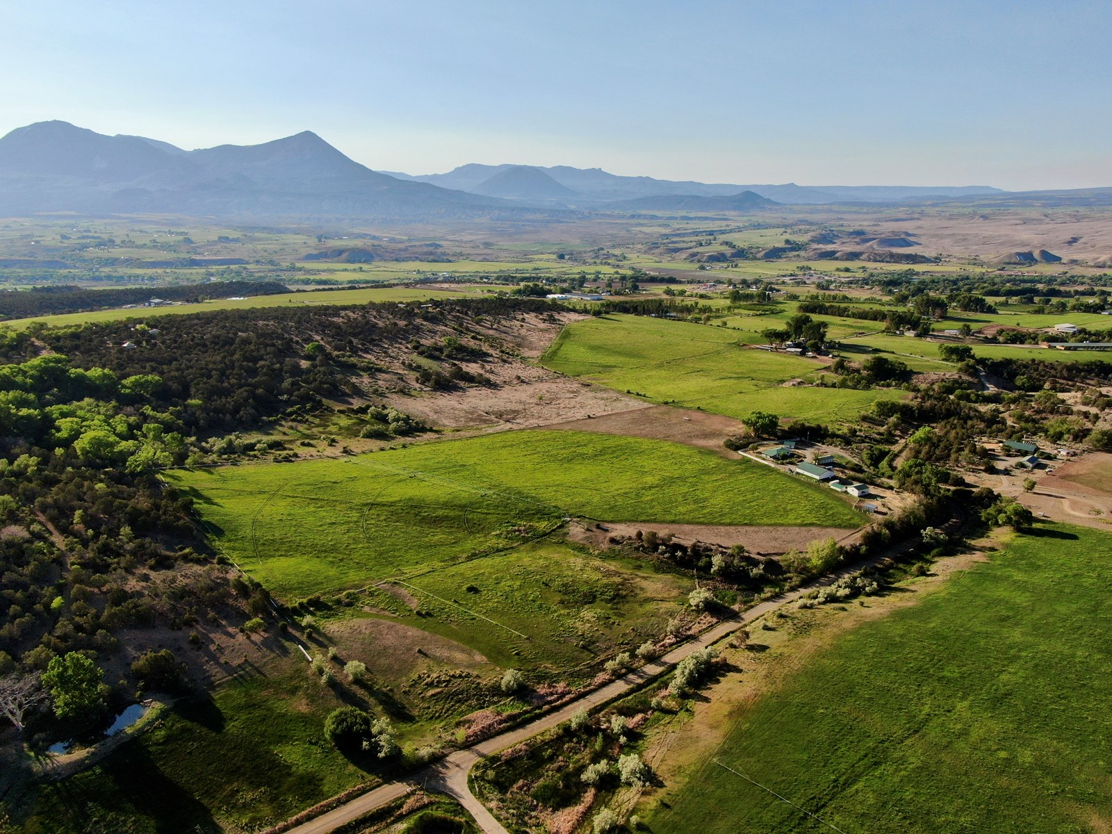 Colorado Country Home with Center Pivot Irrigation, Barn