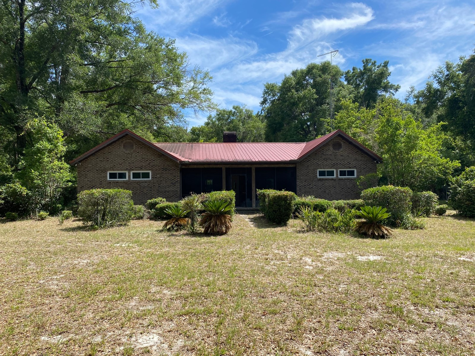 BEAUTIFUL BRICK HOME ON 50 ACRES FOR ONLY $410,000!!