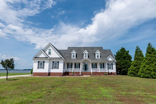 River-Sound Front Home in Perquimans County