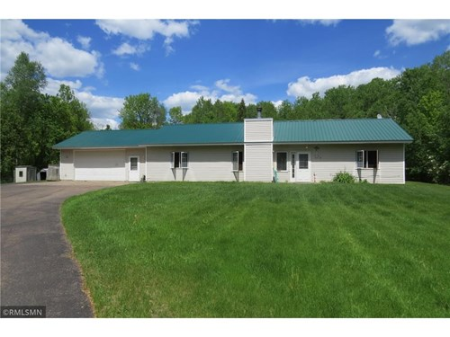 Home For Sale On 30 Acres Along Pine River Near Finlayson MN
