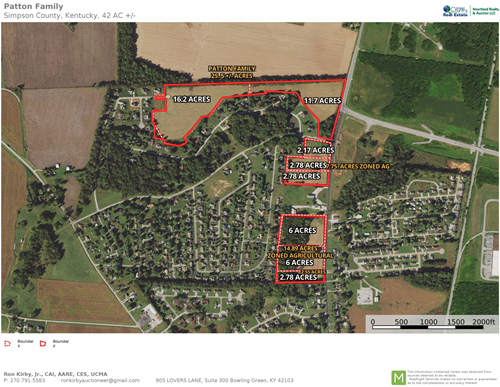 Prime Residential, Ag & Commercial Development Land For Sale