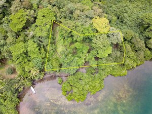 WATERFRONT LOT WITH ABUNDANCE OF POTENTIAL