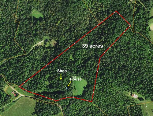 Hunting, Large Home/Retreat, Timber, Private,  5 min to I-65