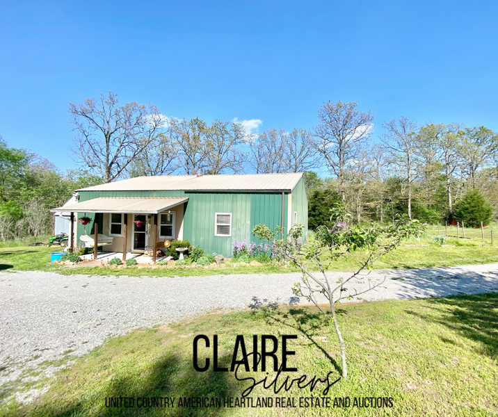 Vernon County Country Home on 20 Acres For Sale