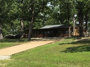 10 ACRES WITH CABIN NEAR BULL SHOALS LAKE