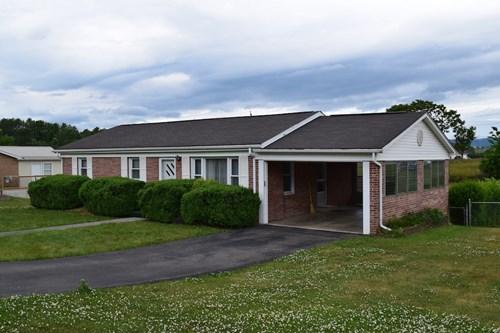 One Level Brick Home for Sale in Pulaski VA!
