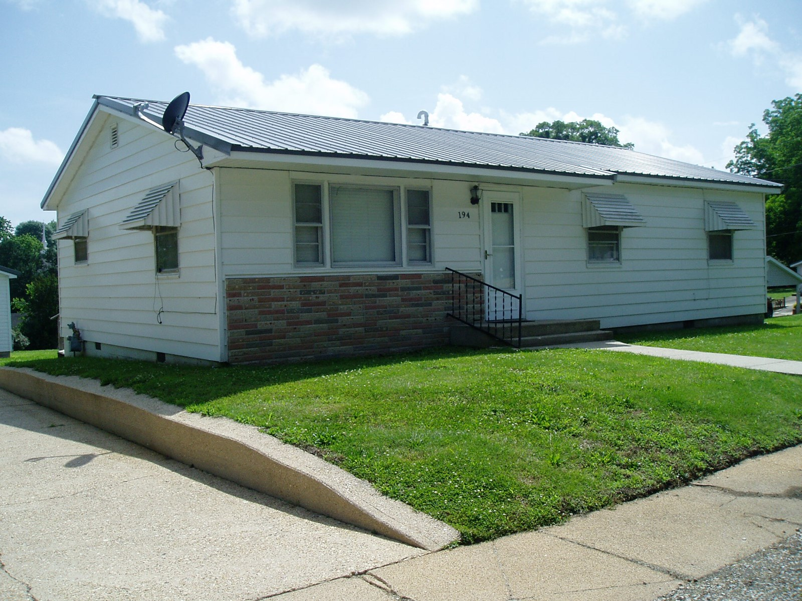 Up dated two bedroom could be three bedroom one bath house