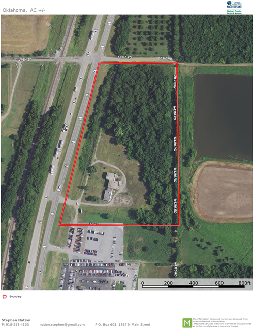 COMMERCIAL LAND FOR SALE IN PRYOR, OK RIGHT ON US HWY 69