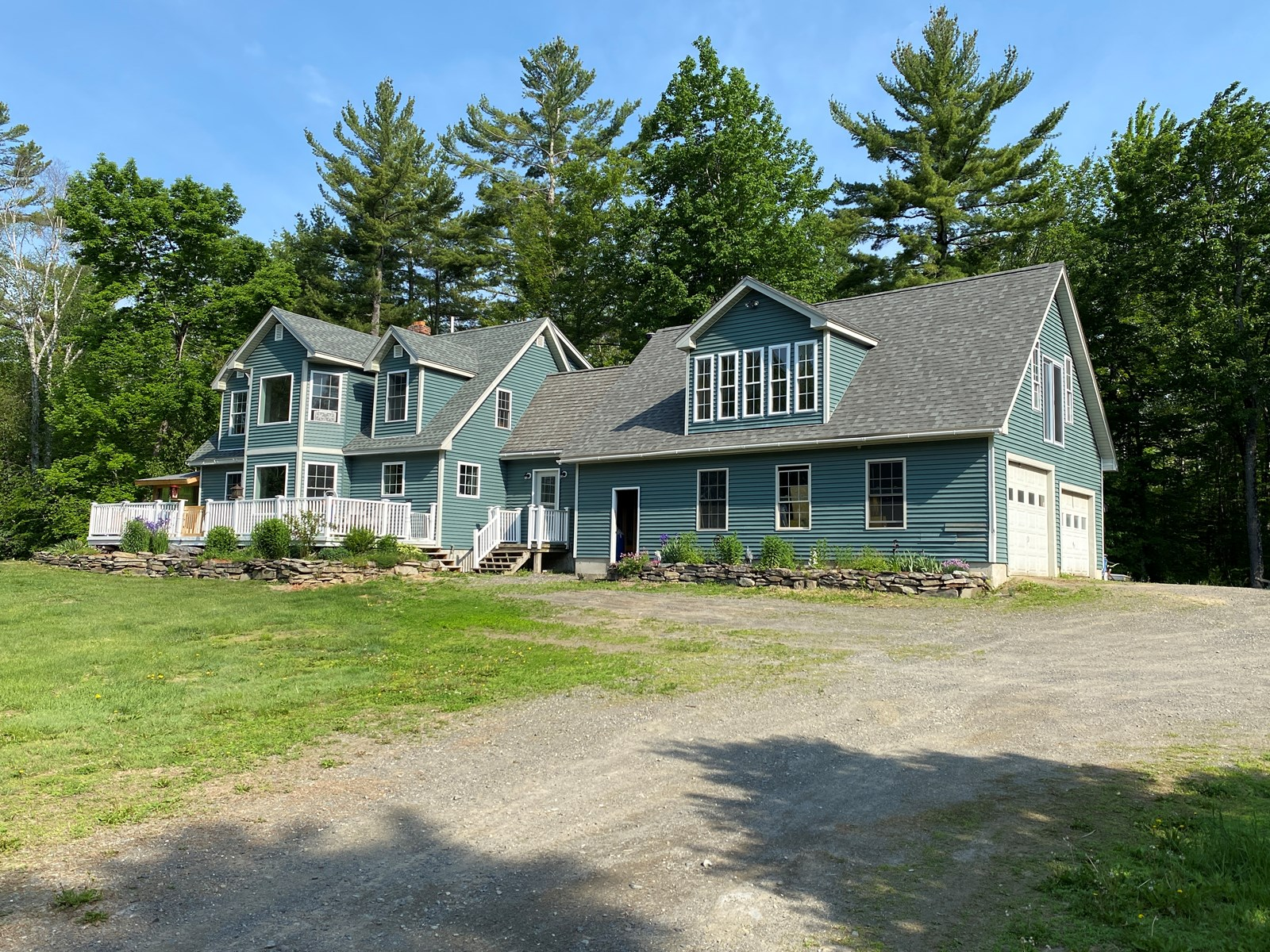 Contemporary Colonial in Piscataquis, Maine