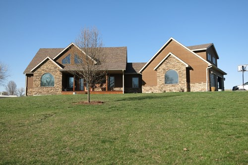 For Sale Large Custom Built Home on Small Acreage in NW MO