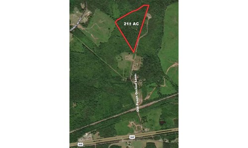 21 +/- Recreational Acres in South Central Virginia