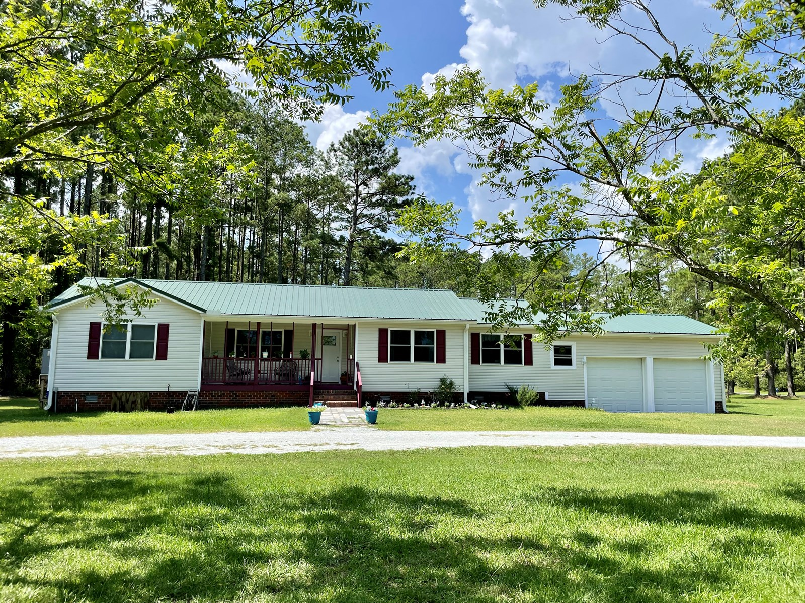 Waterfront Home with Acreage in Aurora Beaufort County NC