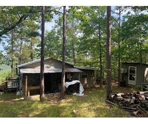 Hunting land with cabin for sale- Latimer County Oklahoma.
