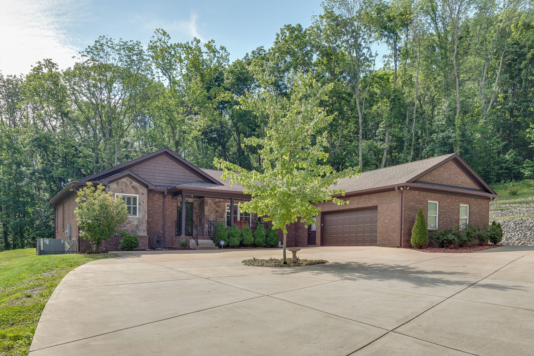 Custom Built Home with Acreage for Sale in Maury County, TN