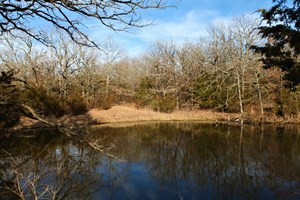 80 WOODED ACRES - CHANDLER, OKLAHOMA - HUNTING OR HOMESITE!