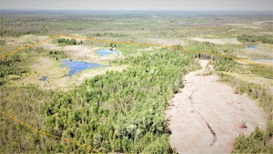 80 ACRE SIDE LAKE HUNTING LAND FOR SALE!